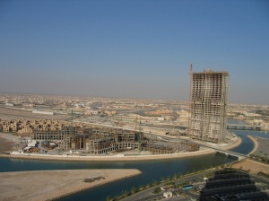 Under construction in 2007, Grand Hyatt and Zig Zag towers